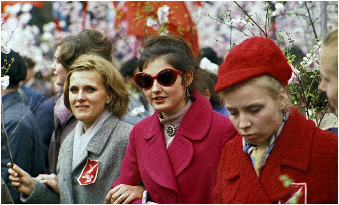 160. 1970. Красная площадь, 1 мая