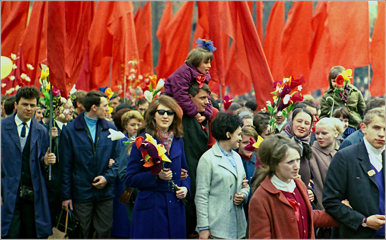 159. 1970. Красная площадь, 1 мая