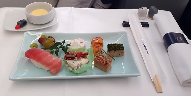 Lufthansa Inflight Meal