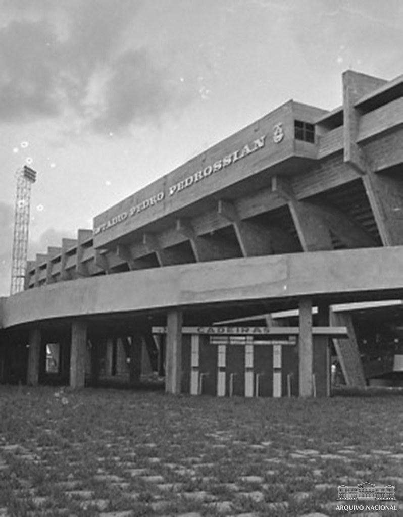 Estádio Universitário Pedro Pedrossian, Campo Grande (MS), 1974
