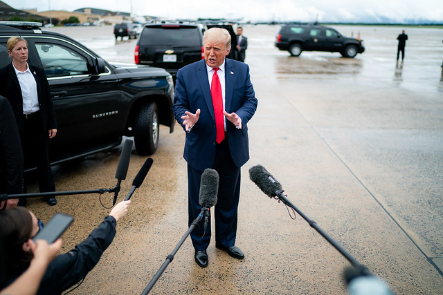 President Trump Travels to Michigan