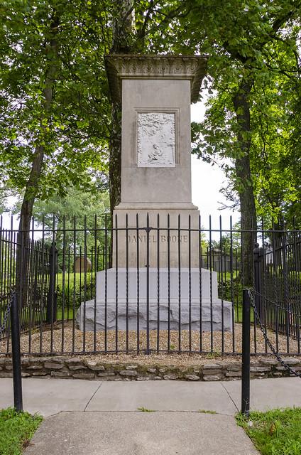Daniel and Rebecca Boone Grave Site