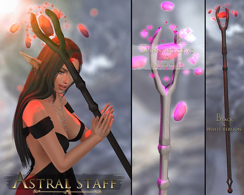 -Elemental- 'Astral Staff' Advert