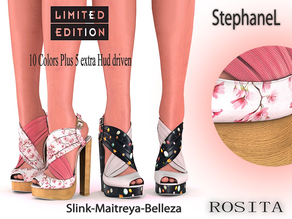 60L [StephaneL] ROSITA SHOES LIMITED EDITION FATPACK