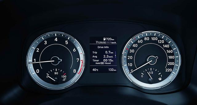 潛望鏡式雙環儀表+3.5吋TFT-LCD車資顯示幕