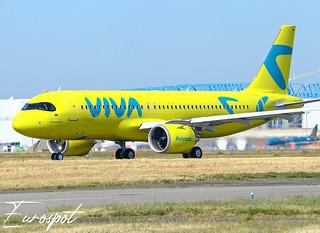 F-WWBH Airbus A320 Neo Viva Air
