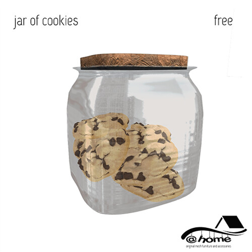 @home: FREE GIFT - Jar of Chocolate Chip Cookies