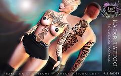 Kafar tattoo Unisex