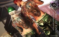 Gail tattoo Unisex