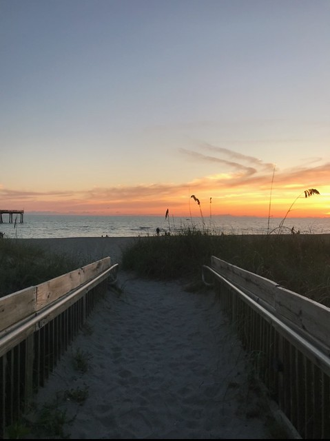 Sharky's Beach Sunset~ Venice, FL