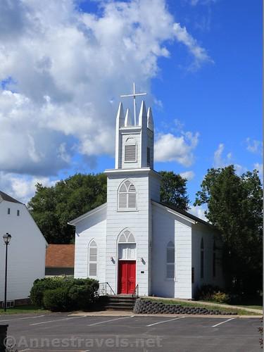 Church in Sodus Bay, New York
