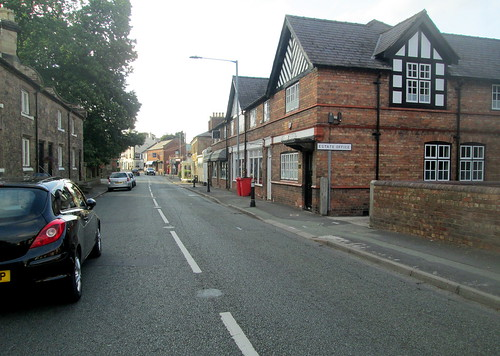 Main Street in Hawarden, North Wales