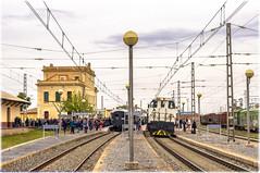 Tren Azul en La Puebla de Híjar