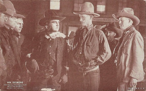 William Desmond, Having a Little Gun-Play With the Sheriff,