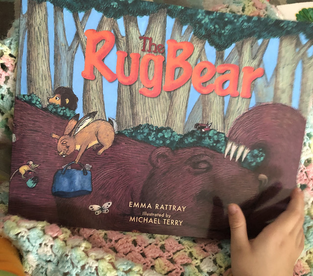 The Rug Bear by Emma Rattray with illustrations by Michael Terry