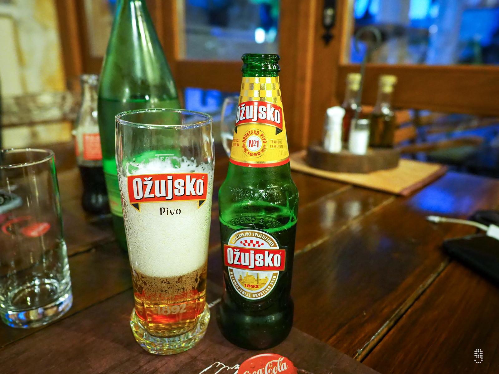 克羅地亞最老牌的啤酒、入口清涼透入心脾