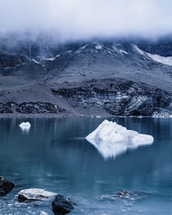 At the 'Griesslisee' - a glacier lake III