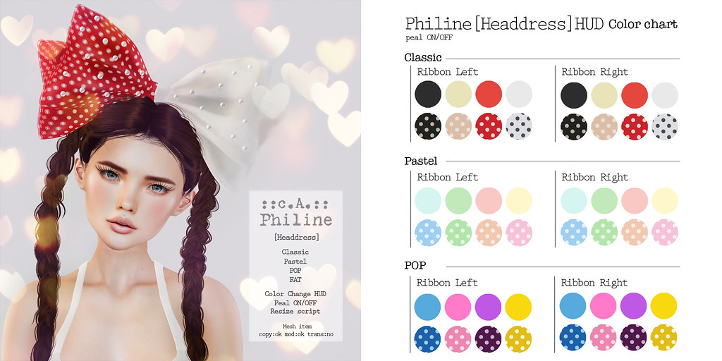 ::c.A.:: Philine [Headdress]