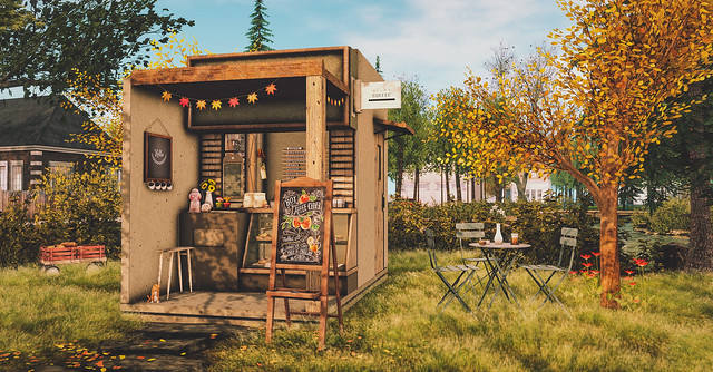 Welcome to my little coffee shop.