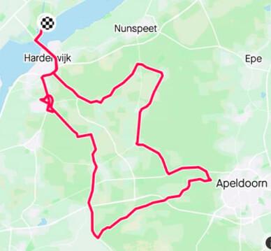 Rondje Veluwe en ALV, september 2020