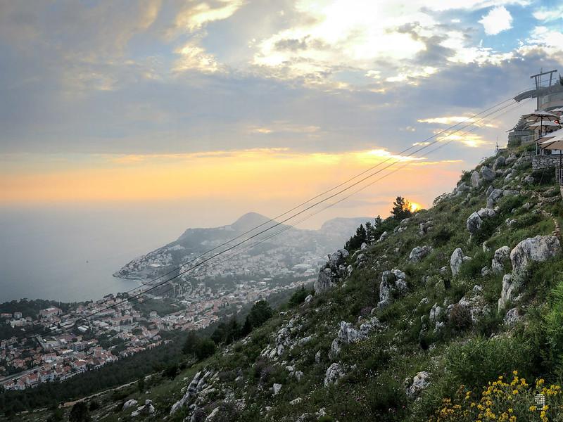 一生必到觀賞日落的理想地點-Mount Srđ