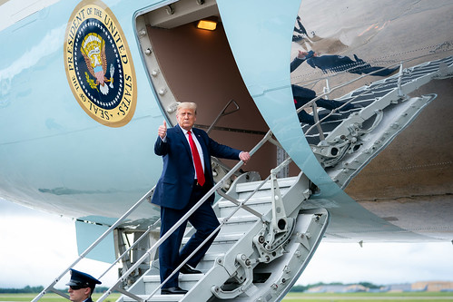 President Trump Travels to Michigan