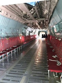 Jump Seats in the C-141