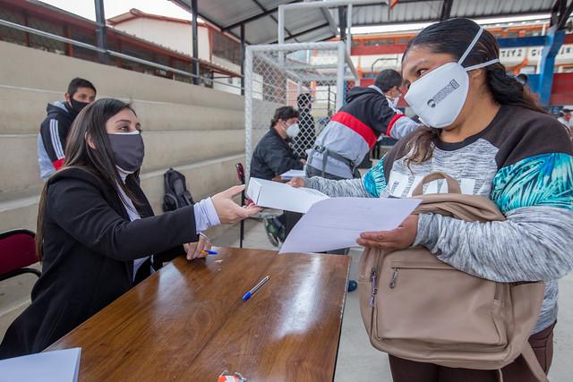 Entrega de Tablets Cooperación Alcaldía de Cuenca Unidad Educativa Chiquintad - Azuay