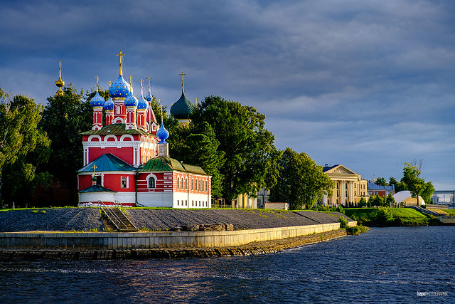 Church of Tsarevich Dimitrios on blood on the banks of the Volga