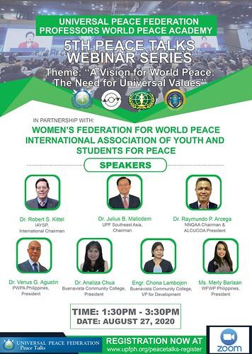 Philippines-2020-08-27-Filipino Educators Join 'Peace Talks' Webinar on Values Education