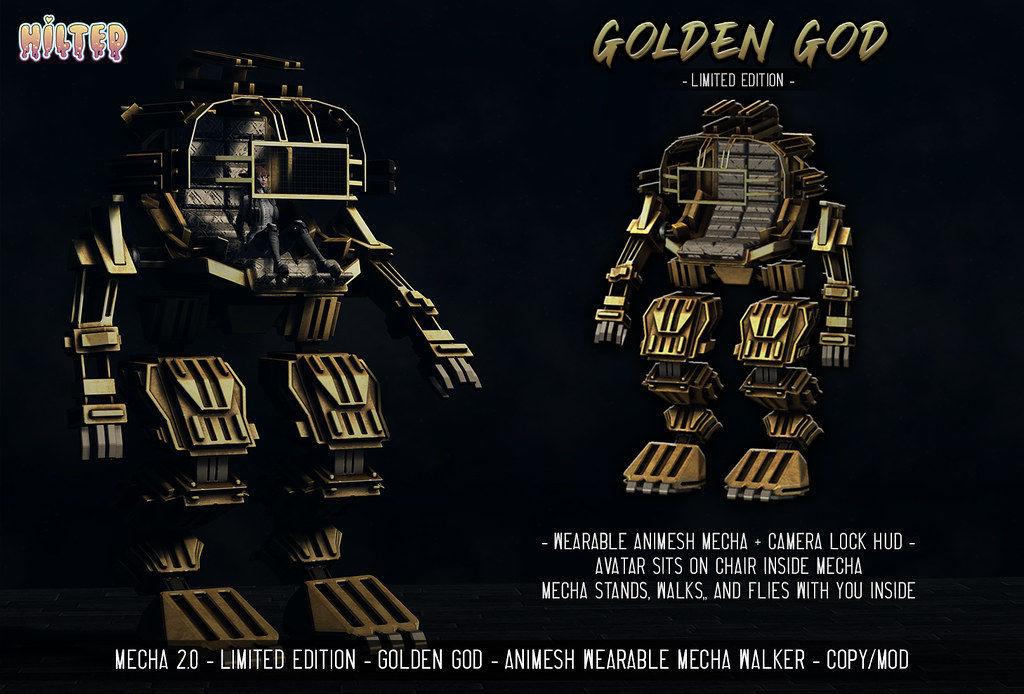 HILTED – Mecha 2.0 – Golden God – Limited Edition