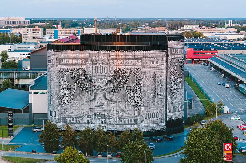 Office center 1000 | Kaunas aerial
