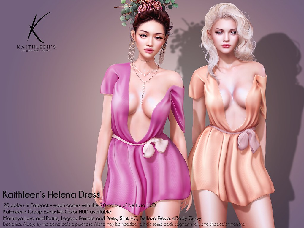 Kaithleen's Helena Dress Poster web