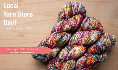 Malabrigo is offering coupons valid for a free pattern download on Ravelry with the purchase.