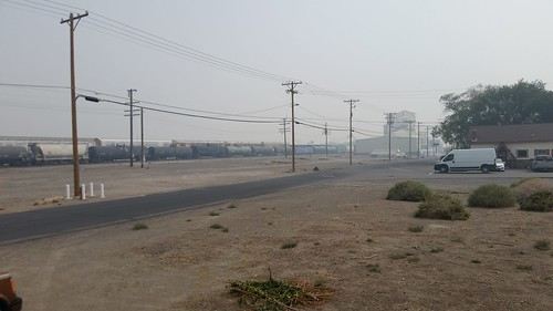 Smoke and Haze at Fernley