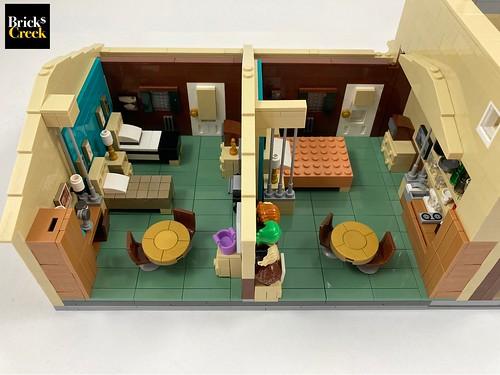Bricks Creek - Motel Bedrooms
