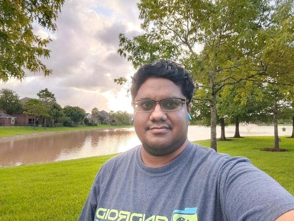 OnePlus Nord selfies