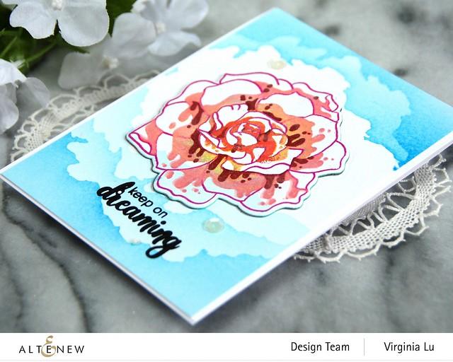Altenew-Amazing Things Stamp Set-CloudSceneStencil#3-001