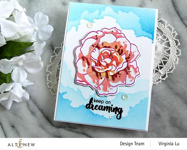 Altenew-Amazing Things Stamp Set-CloudSceneStencil#3