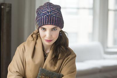 Clara Hat by Katrin Schubert from the Malabrigo Ravelry Store