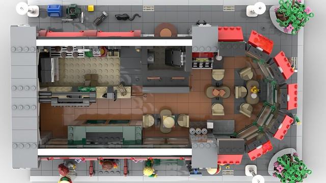 Concession Corner Lego Modular