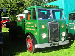 robertknight16 posted a photo:	Foden OG4-6 Flatbed (1948) Engine 3800cc Gardner 4LKLivery: A C Bamlett Ltd., Station Road, Thirsk, YorkshireK Casselden, Winsford, CheshireRegistration Number LPY 535 (North Yorkshire)FODEN SETwww.flickr.com/photos/45676495@N05/sets/72157623789275606...Thankyou for a massive 54,550,695  views Shot 29.08.2016 at the Shrewesbury Steam Fair  REF 121-028