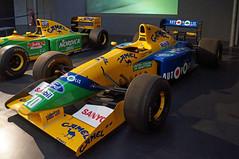 2020-08-22 132 Fahrt nach Freiburg; Mulhouse, 1991 Benetton B191