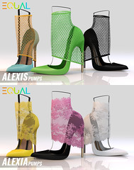 EQUAL - Alexia and Alexis Pumps