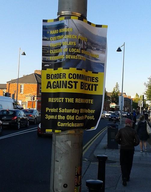 BCAB demo poster, Phibsboro, Dublin