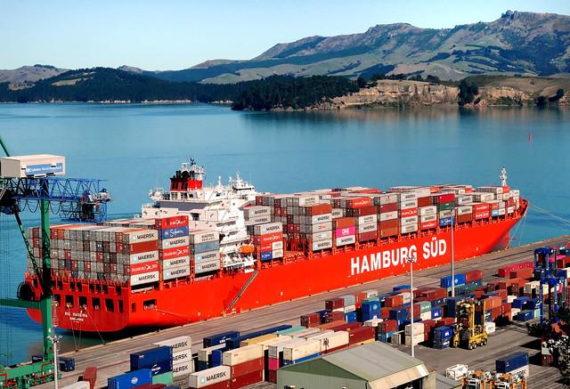 Rio Madeira Container ship.