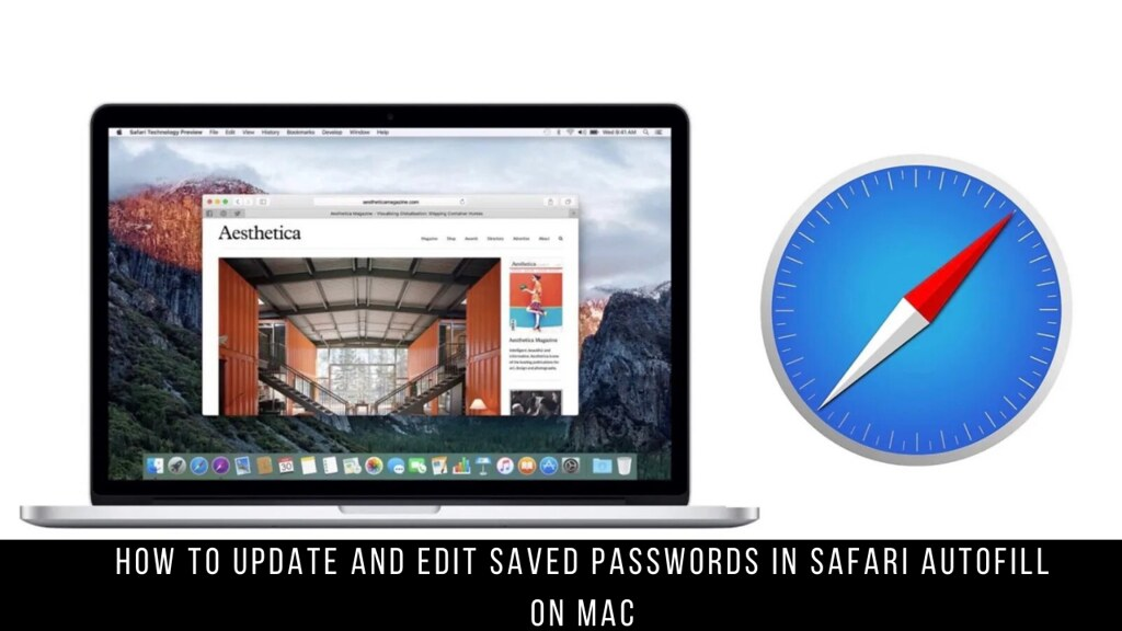 How to Update and Edit Saved Passwords in Safari Autofill on Mac