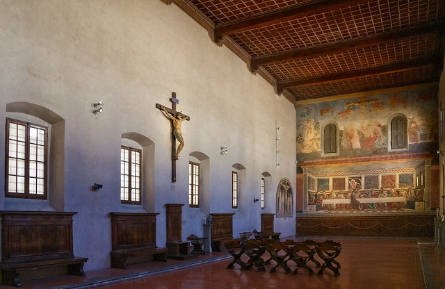 The refectory of Sant'Apollonia