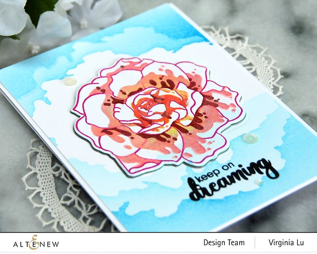Altenew-Amazing Things Stamp Set-CloudSceneStencil#4