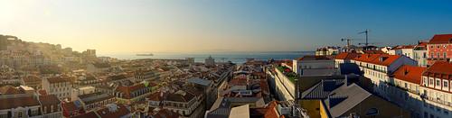 lisbon lisboa portugal sunrise morning tagus panoramic panorama wide xh1 fujifilm fujixseries xf1655mmf28rlmwr xf1655mm mirrorless